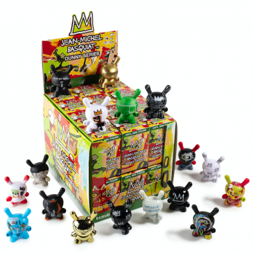 Kidrobot x Jean-Michel Basquiat Dunny Mini Series Available Online Now!