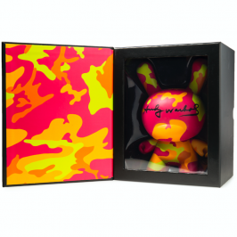 Kidrobot x Andy Warhol Masterpiece Camo Dunny