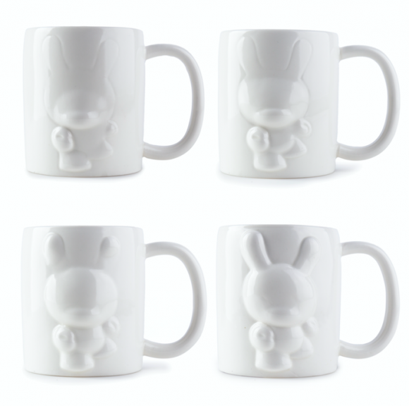 Emerging Dunny 4 Piece Mug Set