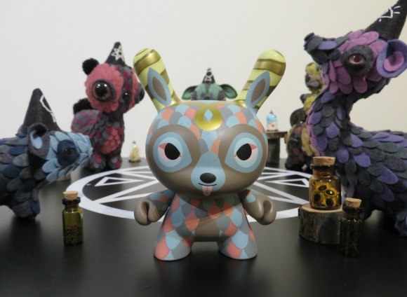 "Kidrobot x The Horrible Adorables 5"" Dunnylope"