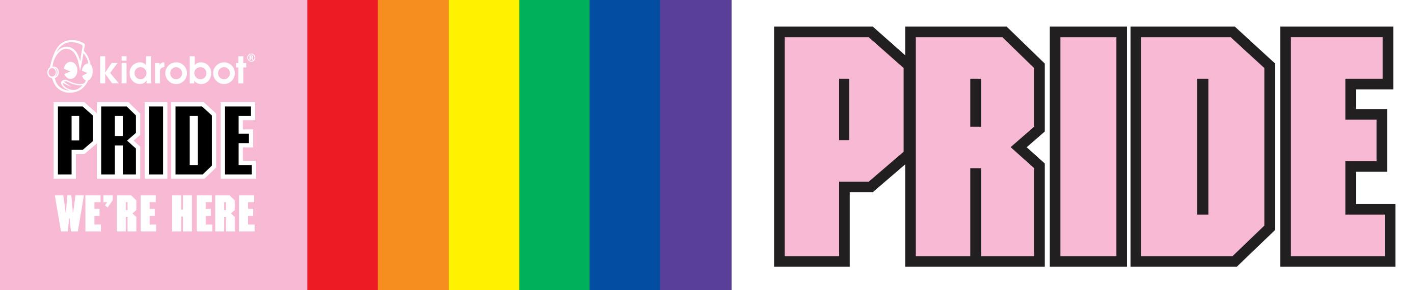 Kidrobot LGBTQ Pride Art Toys by Kidrobot