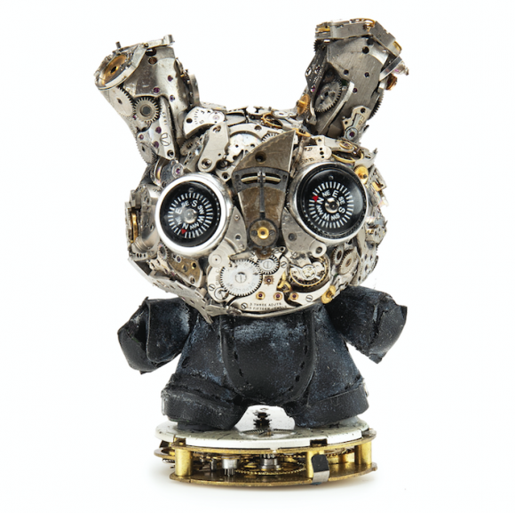 Kidrobot x Dan Tanenbaum Watch Parts Dunny