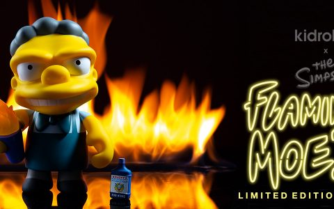 The Simpsons Flaming Moes