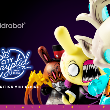 Kidrobot x City Cryptid Dunny Art Mini Series