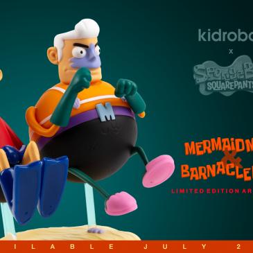 Kidrobot x Nick 90's Capsule Online Now!