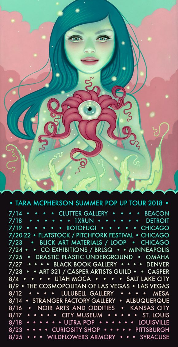 Tara McPherson Summer Tour