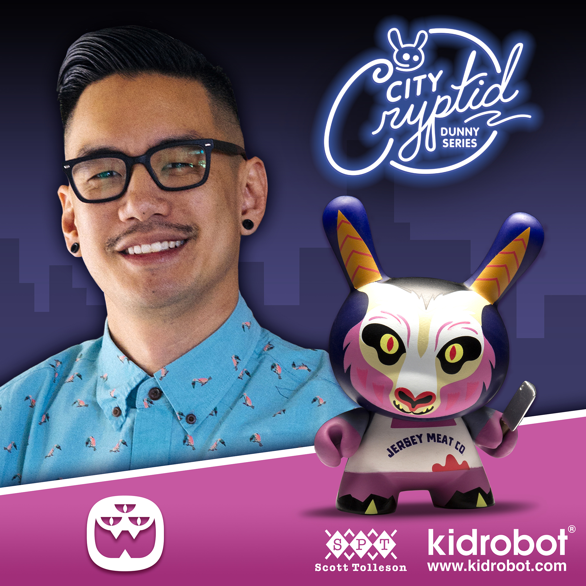 Chris Lee x City Cryptid Dunny Mini Series