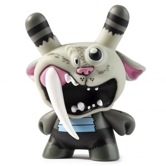 """Kidrobot x City Cryptid Bunyip Dunny by Greg """"Craola"""" Simkins"""