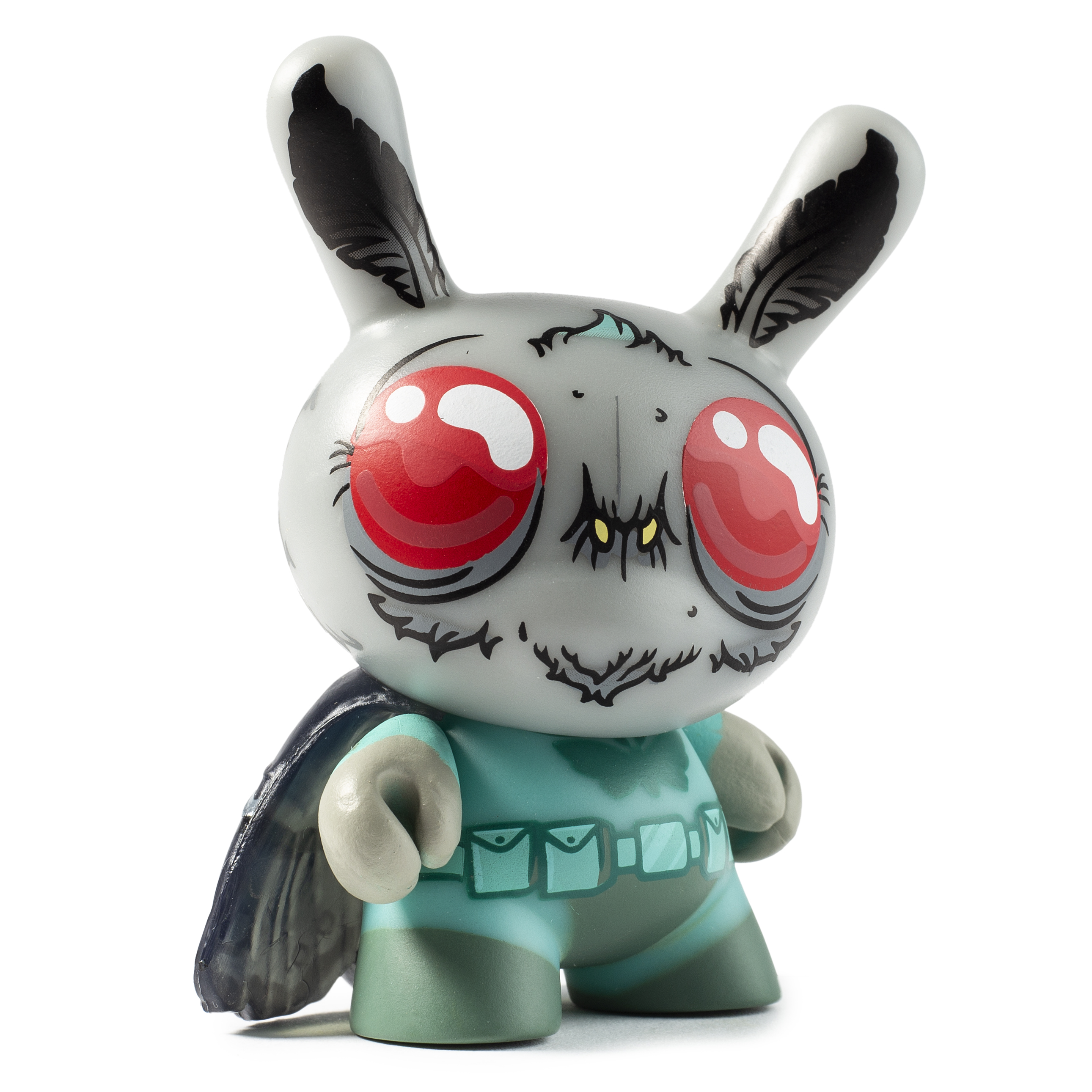 Kidrobot x City Cryptid Dunny Art Mini Series Montman Dunny by Chris Ryniak