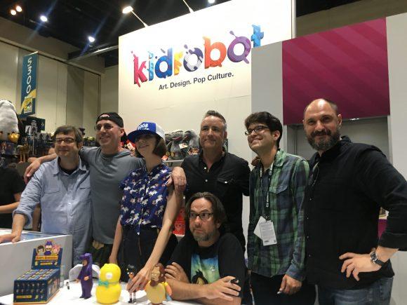 SDCC Kidrobot x Bob's Burgers cast