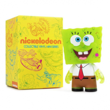 Kidrobot Throwback Thursday: GID Spongebob 3-Inch!