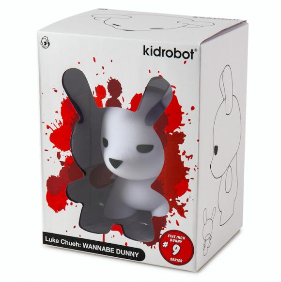 Kidrobot x Luke Chueh Wannabe Dunny