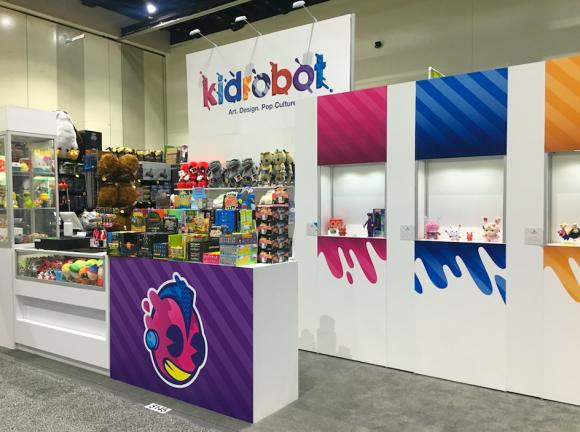 San Diego Comic Con 2018 Kidrobot booth #5145