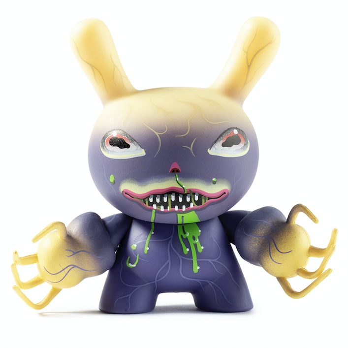 Kidrobot x City Cryptid Dunny Ningen by Charlie Immer