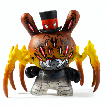 "Kidrobot x City Cryptid Dunny Art Mini Series Artist: Greg ""Craola"" Simkins."