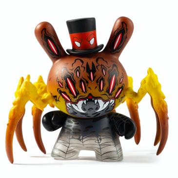 "Kidrobot x City Cryptid Dunny Art Mini Series Artist: Greg ""Craola"" Simkins."