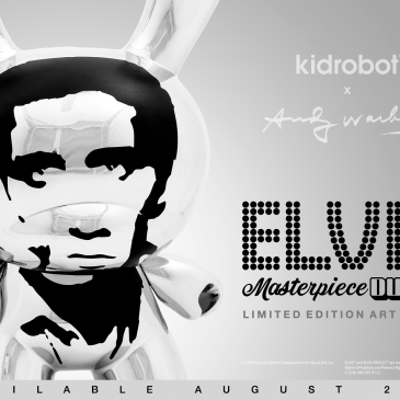 Kidrobot x Andy Warhol 8″ Masterpiece Elvis Online Now
