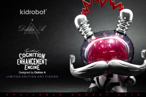 Kidrobot x Dok A Cognition Enhancer Dunny