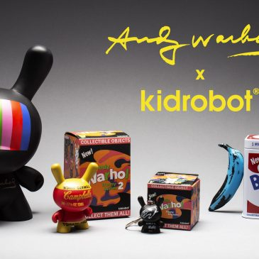 Kidrobot x Andy Warhol 90th Birthday Celebration