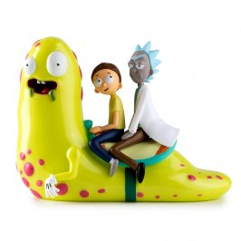 Kidrobot x Rick and Morty Slippery Stair Medium Figure