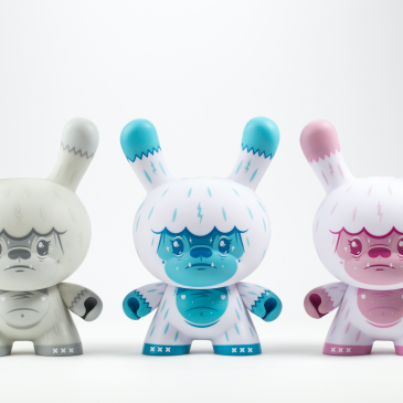 Kidrobot's Throwback Thursday: Kono The Yeti 8″ Dunny By Squink