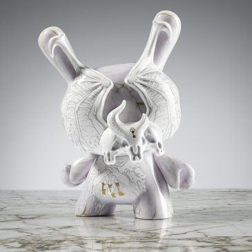 Kidrobot x Arcane Divination 5″ Azazel Dunny By JPK Available Online Now!