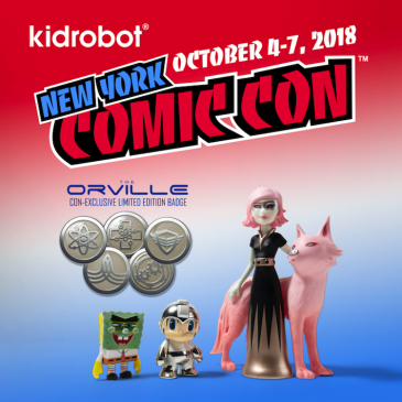 Kidrobot x NYCC 2018 Exclusives, Signings, Events & More!