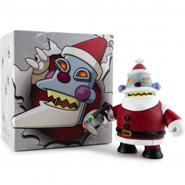 Kidrobot x Futurama Robot Santa Medium Art Figure Online Now!