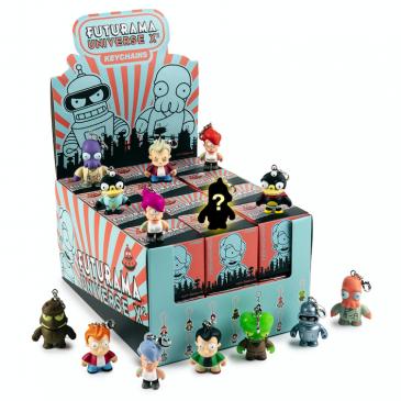 Kidrobot x Futurama Universe X Keychain Series Online Now!