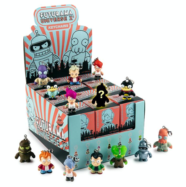 Kidrobot-x-Futurama-Universe-X-Vinyl-Keychains-