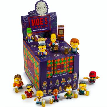 Kidrobot x The Simpsons Moe's Tavern 3″ Vinyl Art Mini Series Online Now!