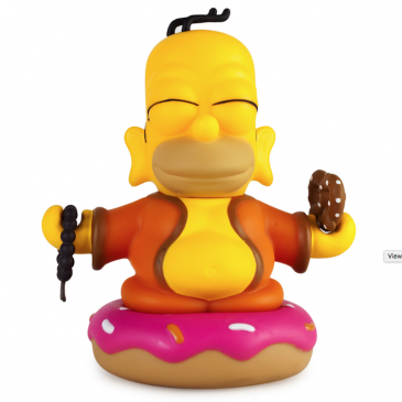Kidrobot Throwback Thursday: Homer Buddha
