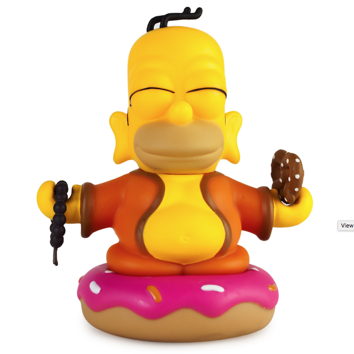 Kidrobot-x-The-Simpsons-Homer-Buddha