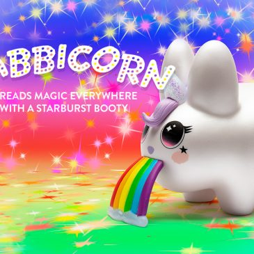 Kidrobot x Frank Kozik 5″ Labbicorn Available Online Now!