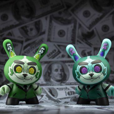Kidrobot's 5″ Cash Wolf Dunny by Josh Divine