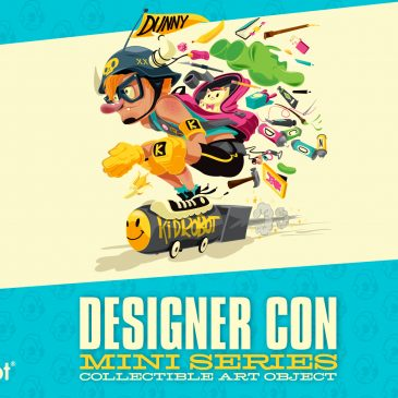 Kidrobot Designer Con Art Dunny Mini Series Coming Soon!