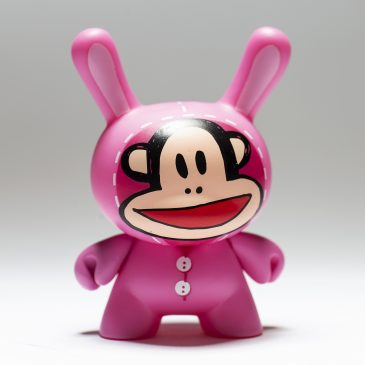 Kidrobot x DCON Dunny Mini Series: Paul Frank