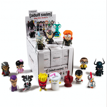 Kidrobot x Adult Swim Blind Box Vinyl Mini Series 2 Online Now!