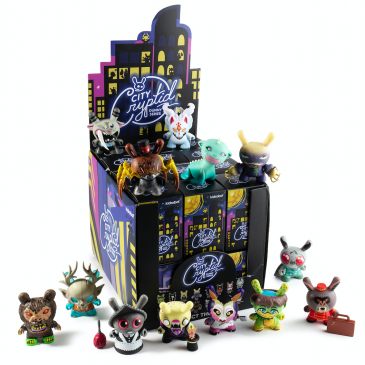 Kidrobot's Throwback Thursday: The City Cryptid Dunny Mini Series