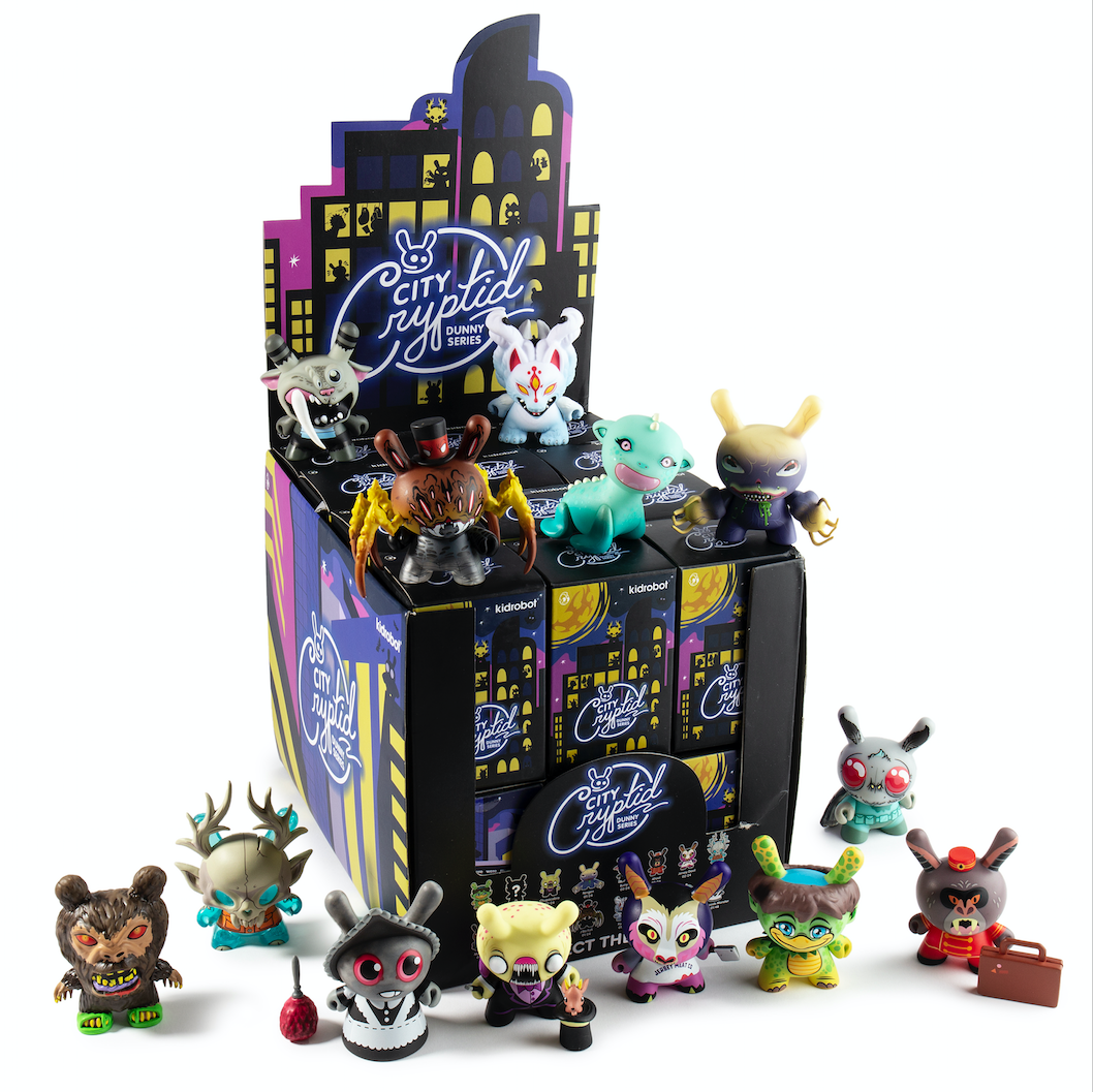 Kidrobot x City Cryptid Dunny Mini Series