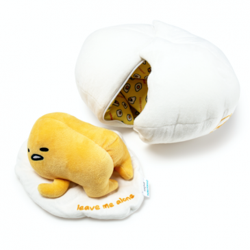 Kidrobot x Sanrio Gudetama Lazy Egg Plush Available Online Now!