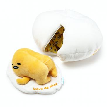 Kidrobot x Sanrio Gudetama Lazy Egg Plush Available Online Now!