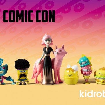 Kidrobot Attends Los Angeles Comic Con!
