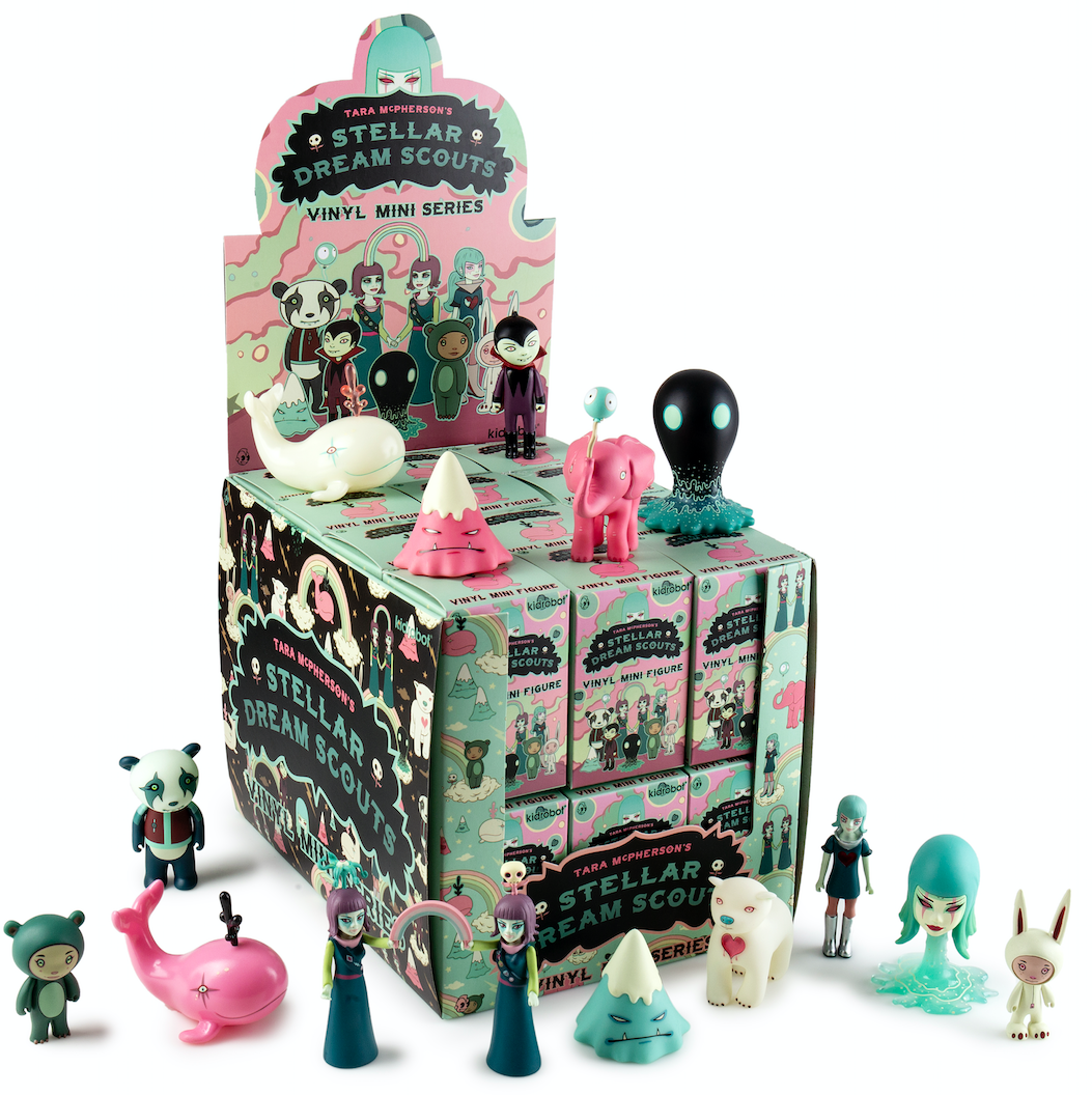 Kidrobot x Tara Mcpherson Stellar Dream Scouts Vinyl Mini Series