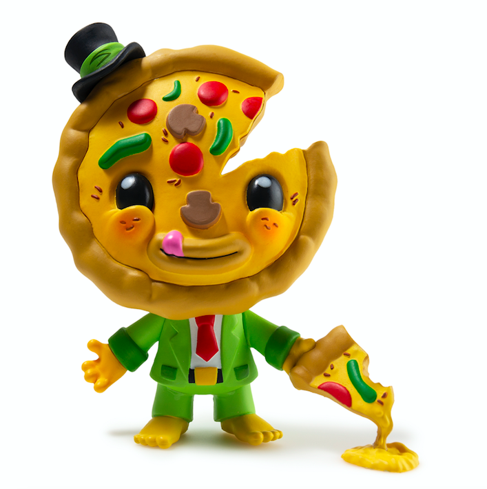 Kidrobot x Piper and lyla Tolleson My Little Pizza