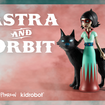 Kidrobot x Tara McPherson Astra & Orbit Vinyl Art Medium Figure Online Now!