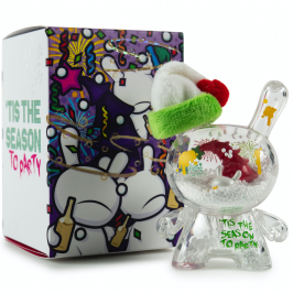 "Kidrobot 3"" Holiday Dunny by JEC package"