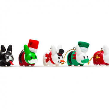 Kidrobot's Throwback Thurdsday: Happy Labbit Ornament Pack!