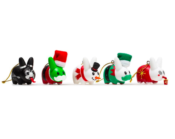 Kidrobot x Happy Labbit Ornament Pack