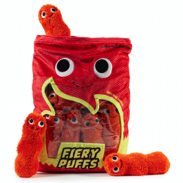 Kidrobot x Yummy World Xl Frye and the Fiery Puffs Plush